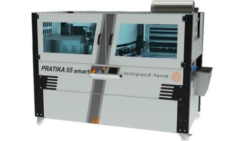 Product - Minipack Pratika 55 Smart – Sealmachine + Krimptunnel