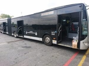 UV-C in Bus
