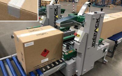 Comarme GERM 520 Dozensluiter  voor 50 mm of 75 mm lengte versterkte filament tape