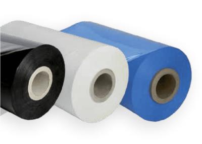 Machinefolie Voorrek 250%, Zwart-Wit-Blauw