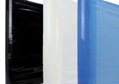 Handrol wikkelfolie Zwart/Wit/Blauw